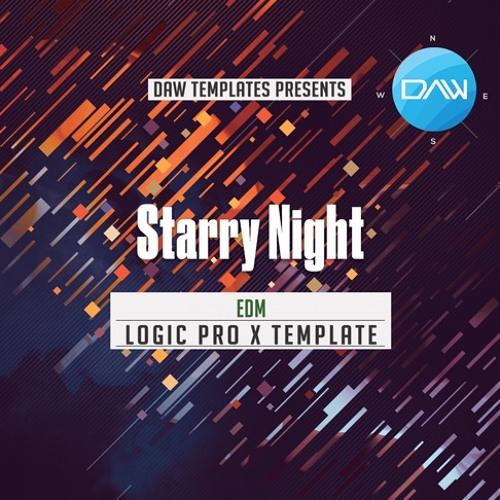 Starry Night Logic Pro X Template
