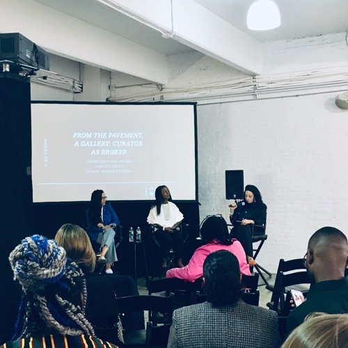 FORUM New York 2019: From The Pavement, A Gallery: Curator As Broker
