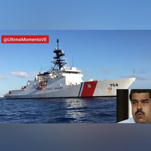 Audio entre el buque de #EEUU, USCGC JAMES (WMSL 754), y la Guardia Costera de #Venezuela