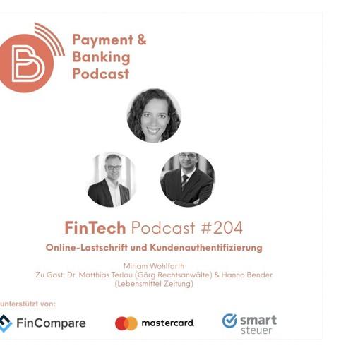 Online-Lastschrift – FinTech Podcast #204