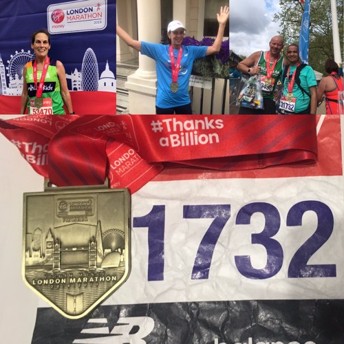 124: 2019 London Marathon In Review: Talking with Amy Weber, Sheila Freeman, and Will Hoyle
