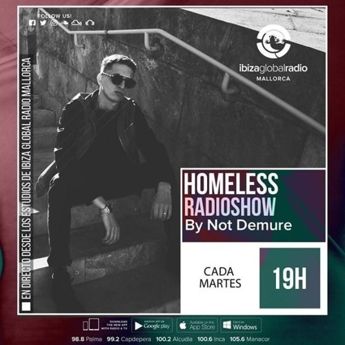 """Ryan (Valhalla)"" for Homeless Radioshow - Transmitted live on Ibiza Global Radio Mallorca (04/2019)"