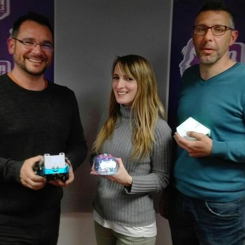 Xavier Fontanges et Laurent Touché ont présenté le challenge robotique MANBOT dans le Live.