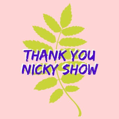 Thank You Nicky Show on Jolt Radio
