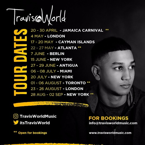 Travis World 2019 Dancehall Plug