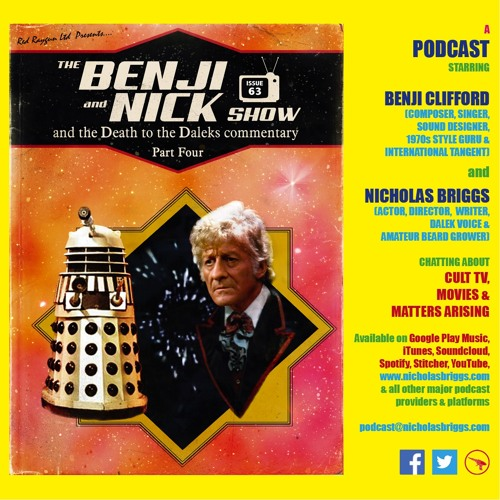 The Benji and Nick Show – Commentary: Death to the Daleks (Episode 4)