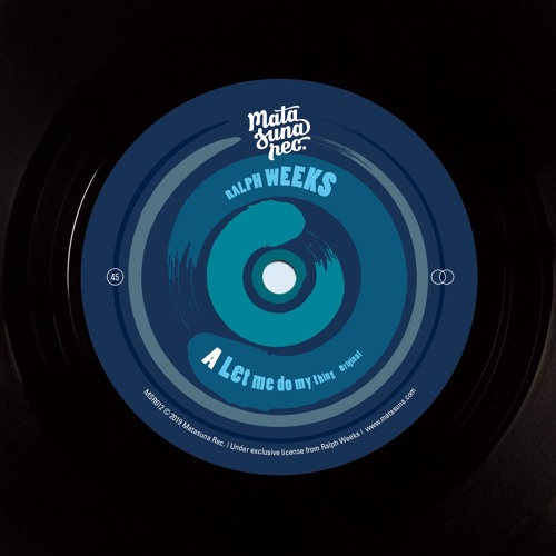 Ralph Weeks - Let Me Do My Thing