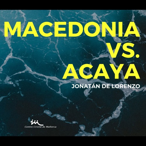 12.05.2019   Macedonia Vs Acaya - Jonatán De Lorenzo