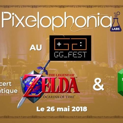 Concert thématique au GGFest 2018: Zelda Ocarina of Time et section PXP jazz