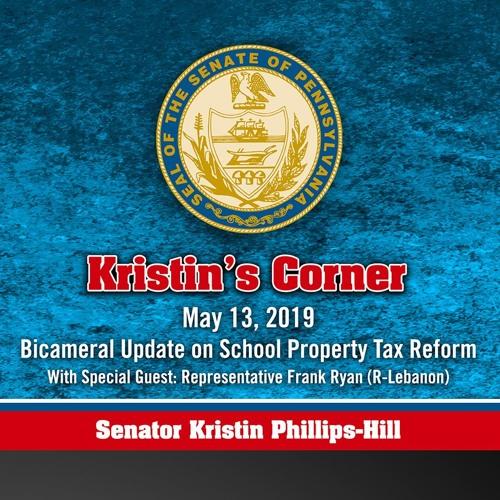 05.13.19 Bicameral Update on School Property Tax Reform