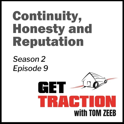 Ep. 9 - Emily Gumpert - Continuity, Honesty and Reputation with Emily Gumpert