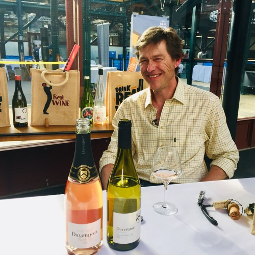 Will Davenport at The Real Wine Fair 2019
