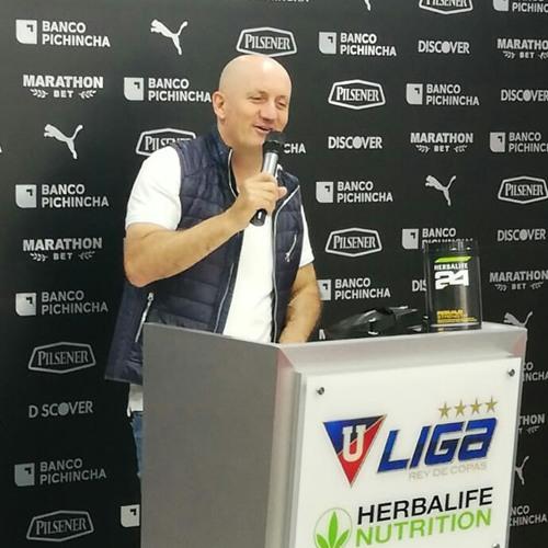 Pablo Repetto, técnico de Liga de Quito, habla sobre el rival de octavos qué es Olimpia