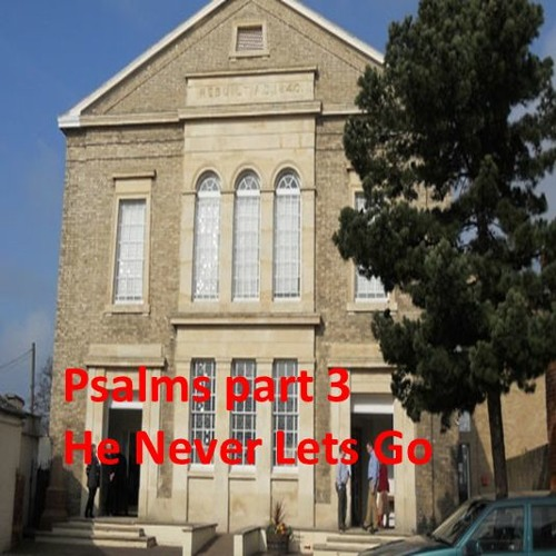 Psalms part 3: He Never Lets Go. Psalm 23, Romans 8 vs 31-39