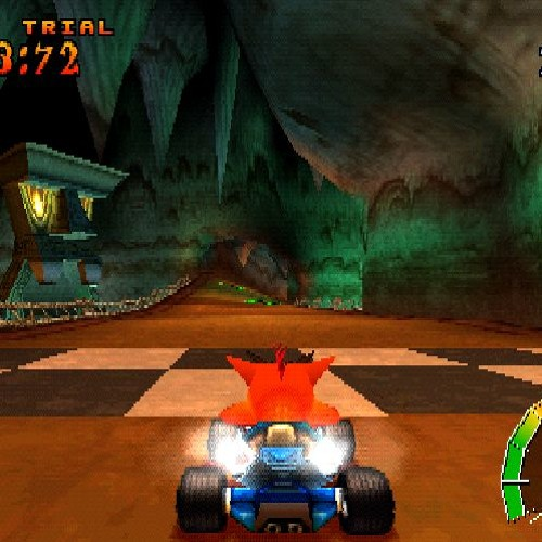 Crash Team Racing - Mystery Caves (Sound Canvas VA) by