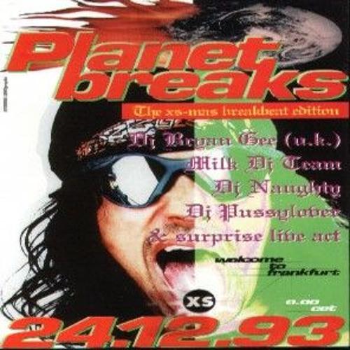Bryan Gee & DJ Naughty - Planet Breaks 'The Xs-mas Breakbeat Edition' - 24th December 1993