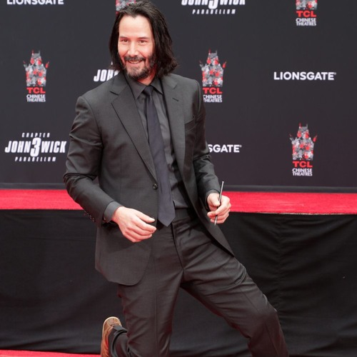 Keanu Reeves Wears Alpinestars Boots At Hollywood Handprint Ceremony