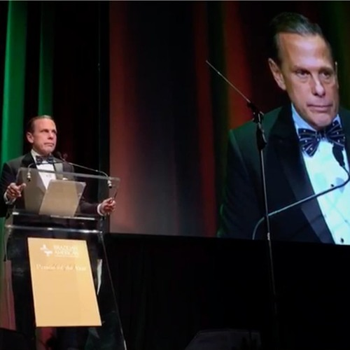 Discurso do Governador João Doria no evento Person of the year, em Nova York - 14.05.19