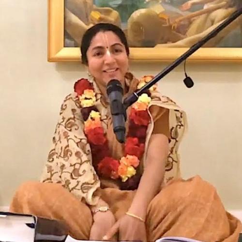 Śrīmad Bhāgavatam class on Thu 16th May 2019 by Priti Lakshana Devi Dāsi 4.22.32