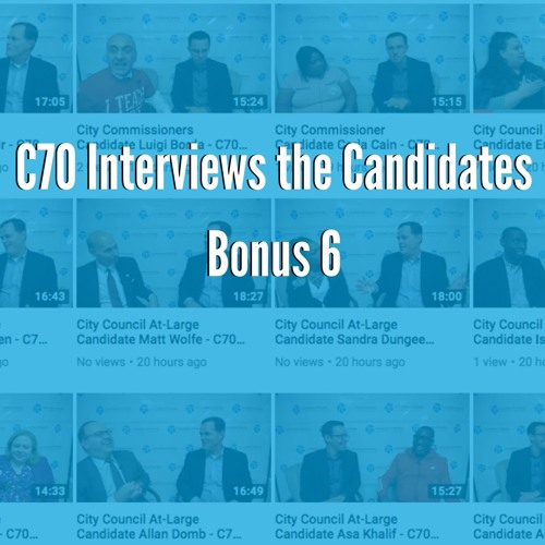 Bonus: City Council At-Large Candidate Interviews with Isaiah Thomas, Fernando Trevino, & Matt Wolfe