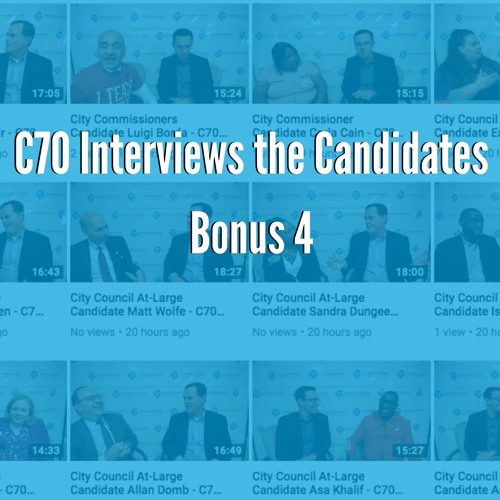 Bonus: City Council At-Large Interviews with Drew Murray, David Oh, & Adrian Rivera-Reyes