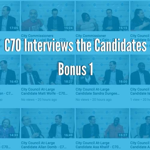 Bonus: City Council Interviews with Fareed Abdullah, Erika Almirón and Vinny Black