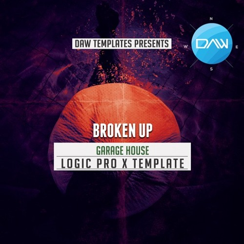 Broken Up Logic Pro X Template