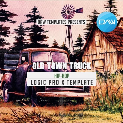 Old Town Truck Logic Pro X Template