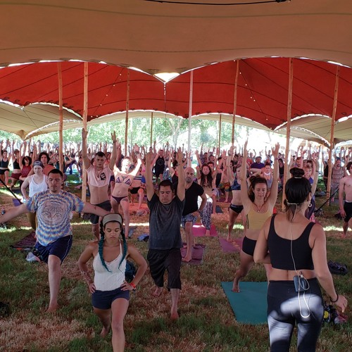 Annand LIB 2019 Yoga Set (Downtempo)- Live to Jessica's 'Vinyasa Flow with my Shadow' class