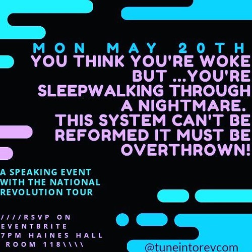 Michael Slate interviews members of the National Get Organized for an ACTUAL Revolution Tour