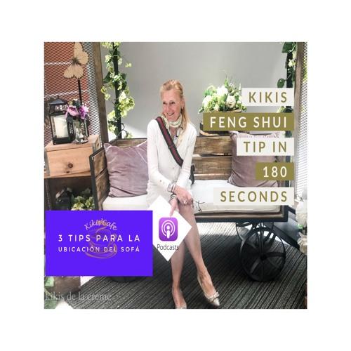 3 Tips para su Sofa Feng Shui  | 2. #Kikisfengshuitip in 180 Seconds