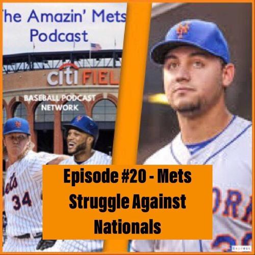 Mets Struggle Against Nationals