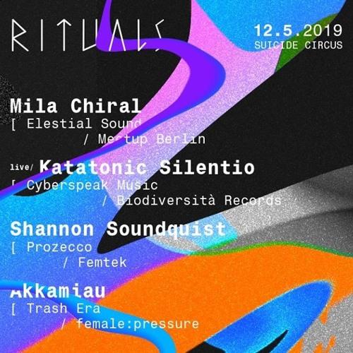 Mila Chiral at Rituals x female:pressure