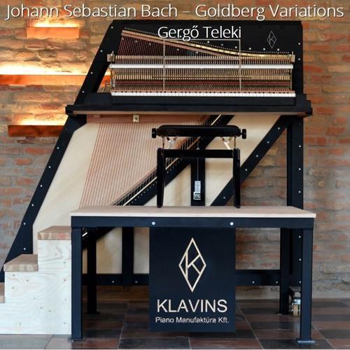 J.S.Bach - Goldberg Variations - Aria & Var1, Var2, Var3