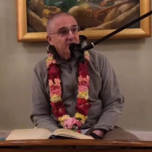 Lord Nṛsiṁhadeva appearance day evening class by His Grace Prabhavishnu Prabhu