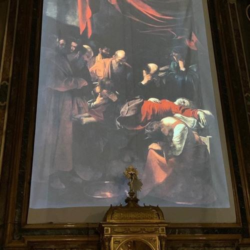 La Morte della Vergine di Caravaggio a Santa Maria della Scala (Lonardo Beatrice De Ruggieri)