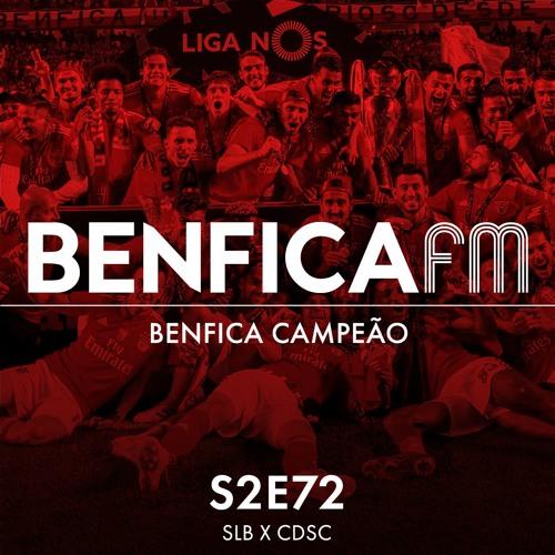#72 - Benfica x Santa Clara (4-1), Benfica Campeão