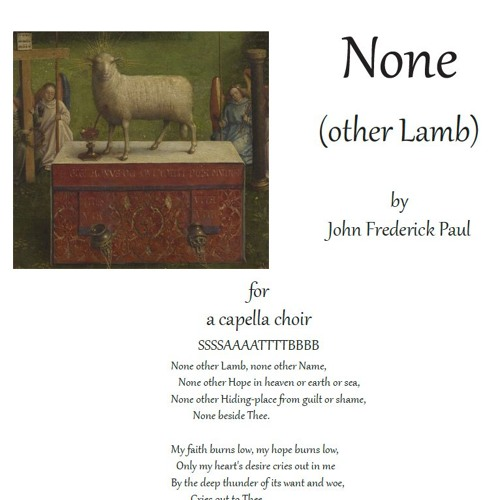 JF Paul: None (other Lamb)