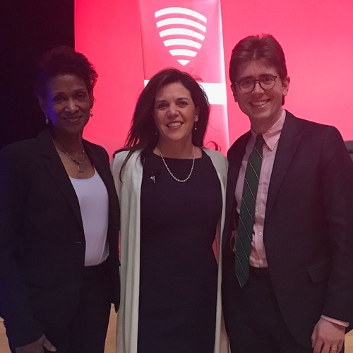 Professor Margarita Mooney at Veritas Forum Columbia 2019