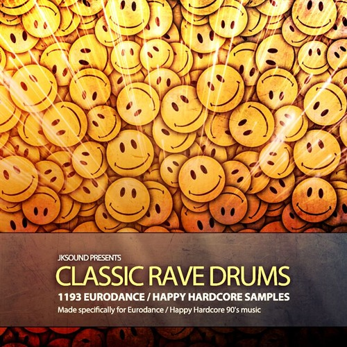 Classic Rave Drums (Eurodance / Happy Hardcore)