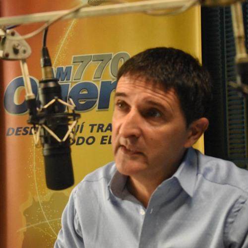 Audición de Carlos Iafigliola en radio Oriental de 20 de mayo de 2019