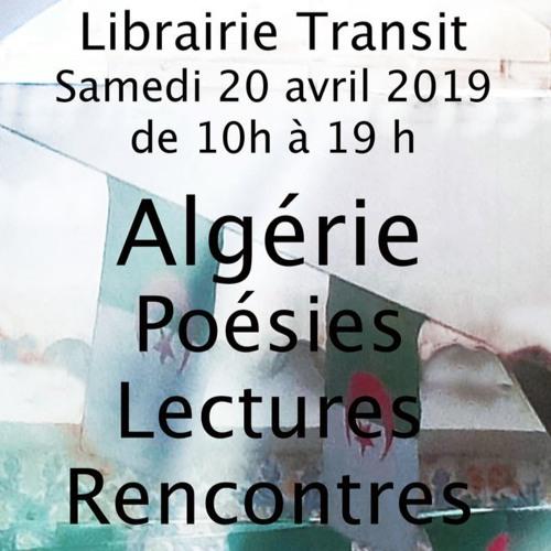 La Poésie Algérienne Lectures Et Rencontres By Transit