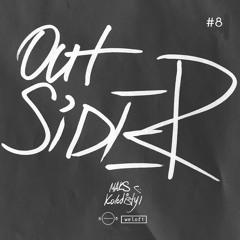 5/8 : radio x welofi — OUTSIDER vol.8 Maks Kolodistyi