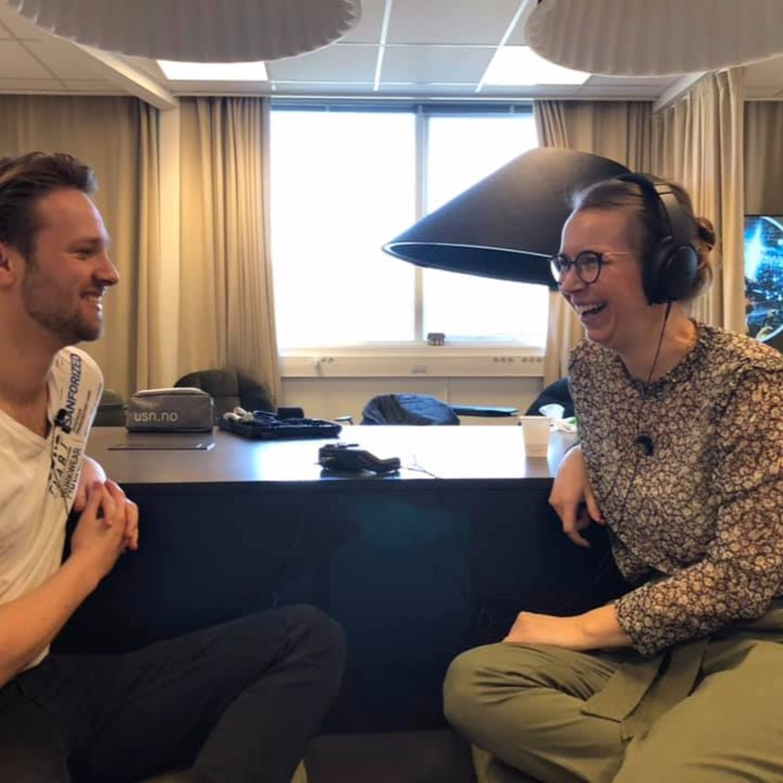 Samtale om DDV på UiS m. studentassistent Magnus Krøger Evensen