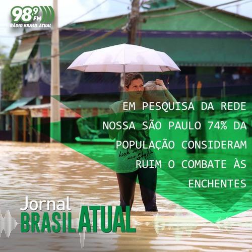 Em pesquisa da Rede Nossa São Paulo 74% da população considera ruim o combate às enchentes