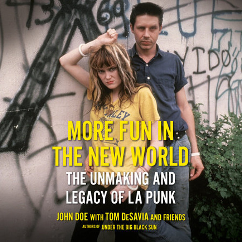 More Fun in the New World by John Doe, Tom Desavia, read by John Doe, Tom Desavia, Various