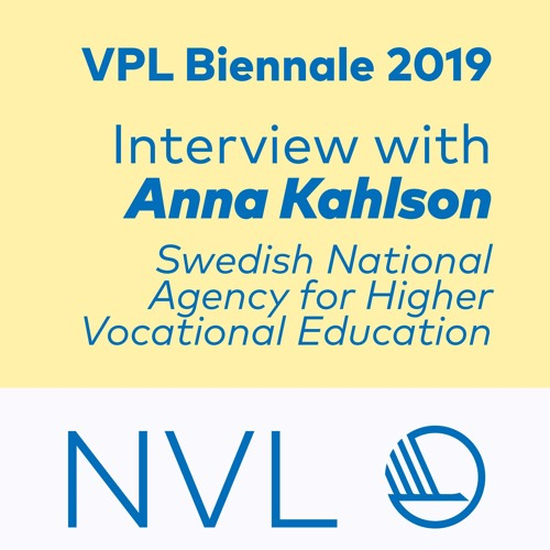 Anna Kahlson talks about the VPL-Biennale 2019