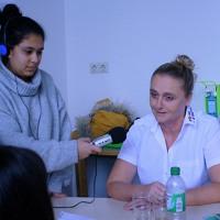 Interview mit einer Pflegerin aus dem Bereich der Gerontologie der Uniklinik Mannheim