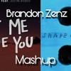 Shape Of You X Let Me Love You -Brandon Zenz Mashup-Dj Snake,Ed Sheeran