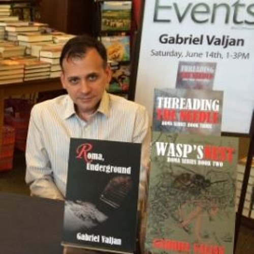 Gabriel Valjan Author & Man Of Many Talents Visits Authors On The Air